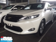 2017 TOYOTA HARRIER 2.0 PREMIUM SPEC.TRUE YEAR CAN PROVE 17 UNREGISTER.POWER BOOT.360 SURROUND CAMERA.LED LIGHT.ELE SEAT