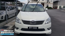 2013 TOYOTA INNOVA 2.0E (AT) - TRD BODYKIT / DVD WITH REVERSE CAMERA / TRUE YEAR MADE