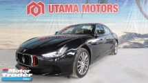 2015 MASERATI GHIBLI 3.0 V6 PETROL SUNROOF RED NAPPA LEATHER SEATS RAYA PROMOTION