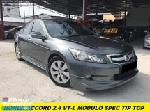 2013 HONDA ACCORD 2.4 VTI-L FACELIFT PADDLE SHIFT GPS ELECTRIC SEAT REVERSE CAMERA FULL LOAN