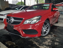2014 MERCEDES-BENZ E-CLASS 2014 Mercedes E250 Coupe AMG Japan Spec 4 Camera 360 View Full Leather L & R Memory Seat unregister for sale