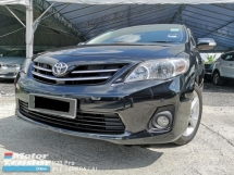 2012 TOYOTA ALTIS 1.8 G SPEC ACC FREE ONE OWNER DOCTOR LAST PATCH BLACK LEATHER INTERIOR