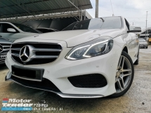2016 MERCEDES-BENZ E-CLASS E250 AMG UNDER WARRANTY BY CNC FULL SERVICE BY CNC ONE DIRECTOR ONWER ACC FREE IMPORT BY CNC LOCAL CKD