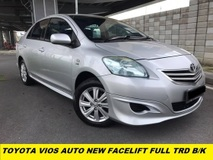 2013 TOYOTA VIOS 1.5J (AT) FULL TRD BODY KIT ONE LADY TEACHER OWNER SUPER LOW MILEAGE LIKE NEW CAR