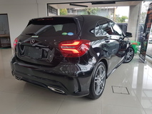 2016 MERCEDES-BENZ A-CLASS 2016 Mercedes A180 AMG New Facelift Japan Spec Panaromic Roof Harman Kardon Sound System Full Leather Unregister for sale