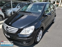2008 MERCEDES-BENZ B-CLASS B170 CBU 1.7 (A) - NICE NO : 228 / TRUE YEAR MADE