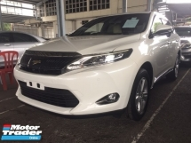 2015 TOYOTA HARRIER 2.0 PREMIUM SPEC.UNREGISTER.TRUE YEAR CAN PROVE.POWER BOOT.360 SURROUND CAMERA.PRE CRASH AUTO BRAKE SYSTEM.LED DAYLIGHT.ELECTRIC SEAT WITH LEATHER.LUXURY INTERIOR.FREE WARRANTY N MANY GIFTS