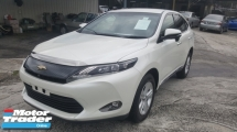 2017 TOYOTA HARRIER 2.0 PREMIUM UNREG 1 YEAR WARRANTY