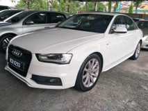 2014 AUDI A4 1.8 TFSI S LINE PUSH START ELCTRIC MEMORY NAPPA LEATHER SEATS BI XENON HEALAMPS