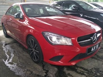 2014 MERCEDES-BENZ CLA 200 1.6 2 MEMORY LEATHER SEATS SPORT RED EDITION
