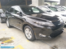 2016 TOYOTA HARRIER 2.0 PREMIUM PANAROMIC POWER BOOT 360 VIEW CAMERA 1 YEAR WARRANTY