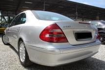 2002 MERCEDES-BENZ E-CLASS Mercedes Benz E240 AVANTGARDE PANORAMIC W211