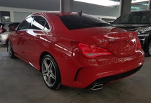 2015 MERCEDES-BENZ CLA 2015 Mercedes CLA180 AMG Japan Spec Keyless Push Start Buuton Radar Blind Spot LKA Unregister for sale