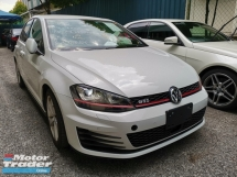 2015 VOLKSWAGEN GOLF GTI 2.0L MK7 WITH PADDLE SHIFT - UNREG -