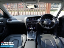 2013 AUDI A4 1.8 TFSI (A)F/SPEC