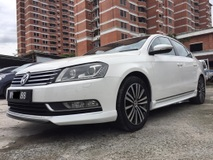 2013 VOLKSWAGEN PASSAT 1.8T B7 DSG TURBO/1 OLD MAN OWNER/KEEP VERY WELL/CONFIRM NO ACCIDENT RECORD/FREE TEST DRIVE.