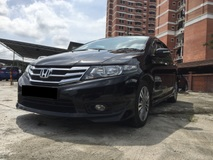 2013 HONDA CITY 1.5E With Original Moduro BodyKits-1 Lady Owner-Low Mileage only 80k km Service By honda malaysia-Confirm Car KIng-Free Test Drive.