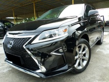 2012 LEXUS RX350 3.5 (A) V6 NEW FACELIFT, POWERBOOT