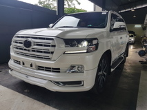 2017 TOYOTA LAND CRUISER 2017 Toyota Landcruiser 4.6 ZX G Frontier Full Spec Unregister for sale