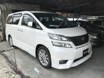 2008 TOYOTA VELLFIRE 2.4Z SIDE LIFT UP SEAT