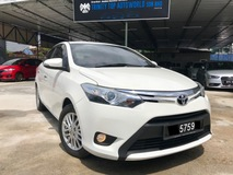 2014 TOYOTA VIOS 1.5G SUPERB LADY OWNER, LEATHER SEAT, 62K KM MILEAGE, FULL LOAN, OPENING SPECIAL SALE