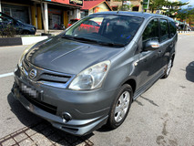 2012 NISSAN GRAND LIVINA 1.6 Impul FULL(AUTO)2012 Only 1 LADY Owner,52K Mileage,TIPTOP,ACCIDENT-Free,DIRECTOwn,IMPUL wit AIRBEG,DVD, GPS & REVERSE Cam