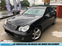 2007 MERCEDES-BENZ C-CLASS KOMPRESSOR FULL HIGH SPEC LOW MILEAGE 1MALAY OWNER ONLY