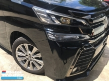 2015 TOYOTA VELLFIRE  2.5 Z A Edition MPV POWER BOAT FULL VIEW CAMERA