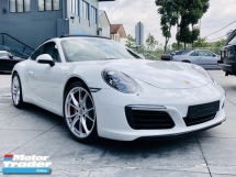 2017 PORSCHE 911 (991.2) CARRERA S 3.0 S' TURBO LIKE NEW