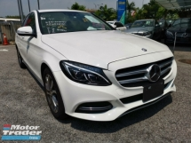 2014 MERCEDES-BENZ C-CLASS C200 AVANTGATRDE JAPAN SPEC *UNREG* READY TO VIEW