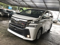2016 TOYOTA VELLFIRE 2.5 ZA PREMIUM SOUND SUNROOF PRE CRASH 4 CAMERA 2016 UNREG NO SST