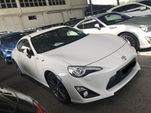 2012 TOYOTA 86 2.0 GT 86 AUTO YEAR MAKE 2012 REGISTER 2013 JAPAN NO SST