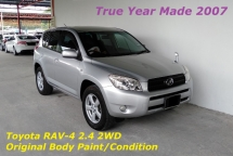 2008 TOYOTA RAV4 2.4 VVTi CVT 7-Speed Push Start Button Premium Spec