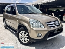 2005 HONDA CR-V 2.0L i-Vtec (A) 1 OWNER SERVICE ON TIME
