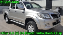 2013 TOYOTA HILUX 3.0 (A) D-4 DIESEL TURBO DOUBLE CAP CITY CAR NO OFF ROAD DRIVE EXCELLENT CONDITION
