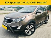 2013 KIA SPORTAGE 2.0 (A) AWD Full Spec SUV Sunroof Keyless Entry Push Start