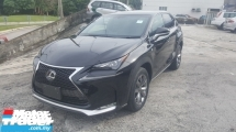 2014 LEXUS NX 200t F SPORT UNREG 1 YEAR WARRANTY