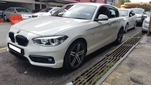 2017 BMW 1 SERIES 118I SPORT LINE (A) REG 2017, ONE LADY OWNER, FULL SERVICE RECORD, LOW MILEAGE DONE 13K KM, UNDER WARRANTY UNTIL FEBRUARY 2022