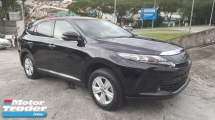 2017 TOYOTA HARRIER 2.0 PREMIUM PANAROMIC ROOF UNREG