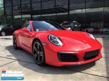 2018 PORSCHE 911 CARRERA S 3.0 Porsche UK Approved 991 SR LED Mega Specs