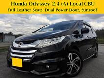 2014 HONDA ODYSSEY 2.4 (A) Premium MPV Full Service Dual Power Door Local