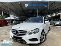 2015 MERCEDES-BENZ E-CLASS E300 BLUETEC HYBRID 2.1 TURBO DIESEL AMG FULL SPEC