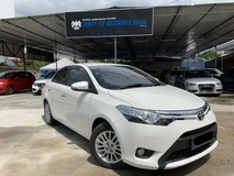 2014 TOYOTA VIOS 1.5G LIMITED (AT) PUSH START KEYLESS LEATHER SEAT LOW MILEAGE FULL SERVICE RECORD