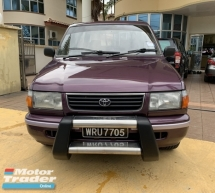1999 TOYOTA UNSER 1.8 Manual