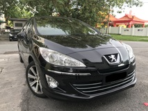 2013 PEUGEOT 408 1.6 TURBO PREMIUM FULL SPEC FULL SERVICE FULL LOAN