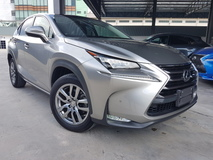 2015 LEXUS NX 2015 Lexus NX200T I Package Panaromic Roof Power Boot Full Leather Pre Crash Unregister for sale