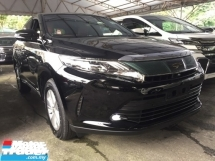 2017 TOYOTA HARRIER 2.0 PREMIUM.FACELIFT.UNREGISTER.FULLSPEC.TRUE YEAR MADE CAN PROVE.POWER BOOT.360 SURROUND CAMERA.PRE CRASH AUTO BRAKE.LANE ASSIST.ELECTRIC SEAT WITH ORI BROWN LEATHER