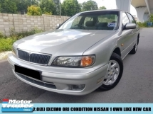 2002 NISSAN CEFIRO OTR PRICE 20EXCIMO ORIGINAL CAONDITION LIKE NEW CAR 1 OWNER