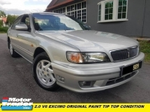 2002 NISSAN CEFIRO 20EXCIMO ORIGINAL PAITN ACCIDENT FREE ONE OWNER SUPER TIP TOP CONDITION
