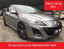 2012 MAZDA 3 2.0 SPORT (A) NEW NUMBER 1155